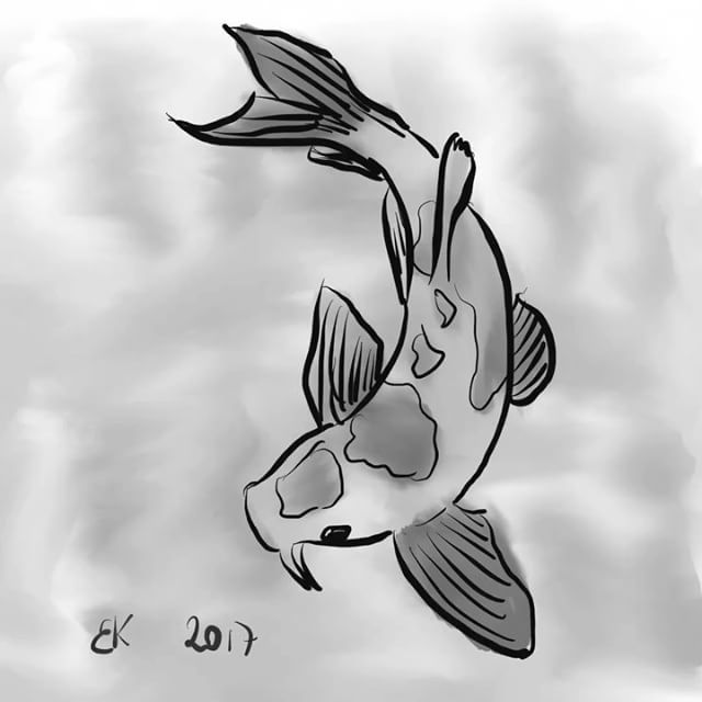Daily sketch 0035 - How to Draw A goldfish  My Daily sketch - by Brian Kristensen How to Draw A #goldfish  #Practice #DailyPic #DailySketch #DailyDrawing #Drawing #Sketching #Progress #HowTo #HowToDraw #Video #Sketch #DIY #guldfisk  Please comment with critic so i Can practice my #illustration skills.  See all sketches on my blog: http://blog.briankristensen.dk/category/sketch/daily_sketch/