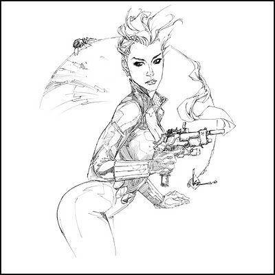 Another Black Widow by Kenneth Rocafort | Kenneth Rocafort | Pinterest