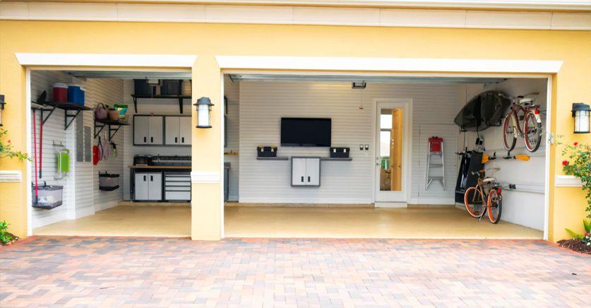 ideas para decorar tu garaje y sacarle el máximo partido