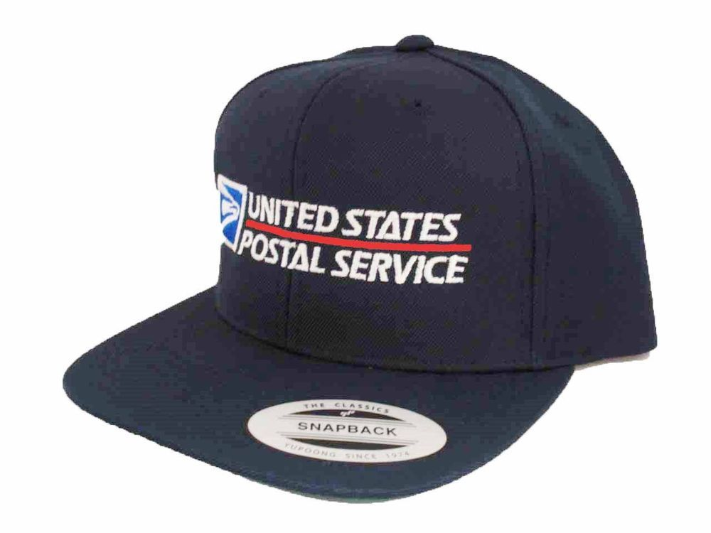 1357f896d98 USPS Snapback Cap United States Postal Service Adjustable Hat Yupoong Dark  Navy  fashion  clothing