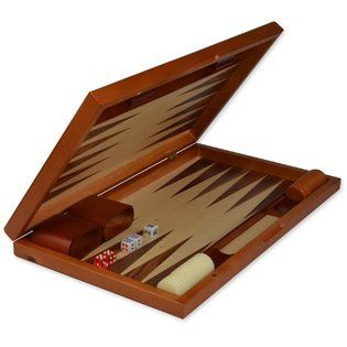 Backgammon set, available for 2 hour in-house checkout. During heavy research times, games will be restricted to the lounge area.