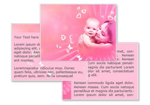 Happy Mothers Day Powerpoint Template Victoria Secret Pinterest