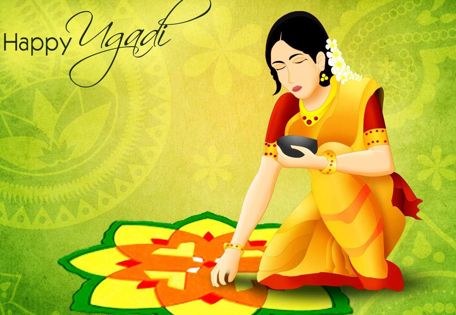 Happy Ugadi Greetings Cards Wishes Images Sms Quotes Whatsapp Status Dp Profile Pics Live Eagle Diwali Images Festival Image Wishes Images