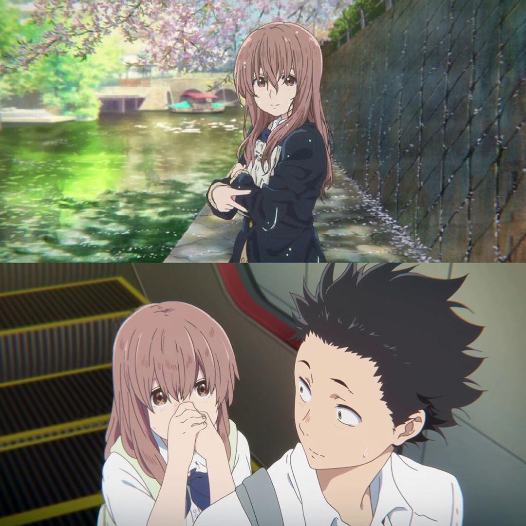 Koe No Katachi Anime Films Anime Background Anime