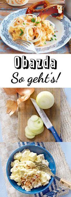 Obazda - das einfache Rezept zum Selbermachen   LECKER