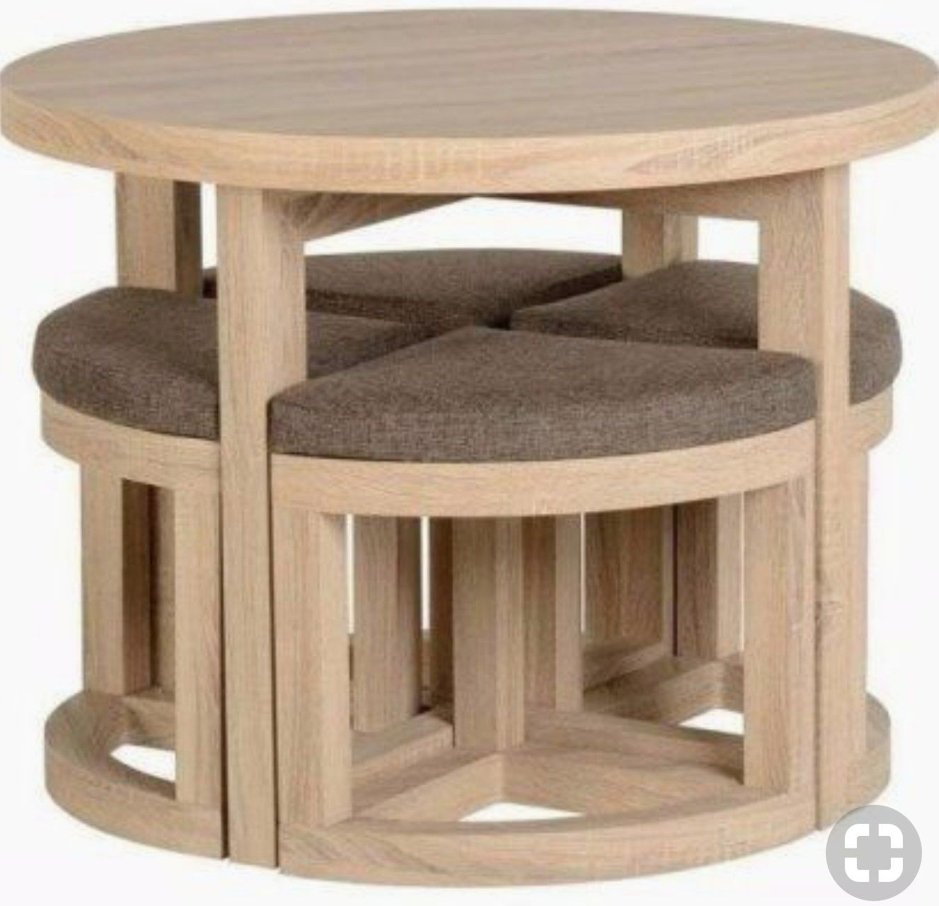 Pin By Jarod On Home Project Ideas Oak Finish Furniture Round Wooden Dining Table Diy Furniture