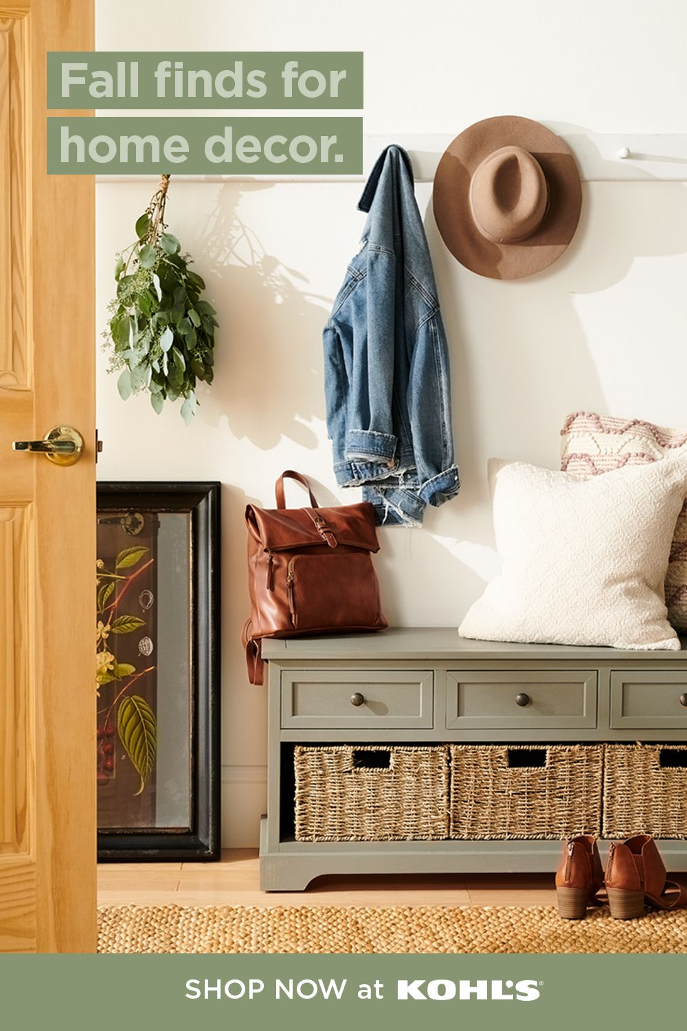 Find Fall Decor And More At Kohl S In 2020 Home Decor Decor Home