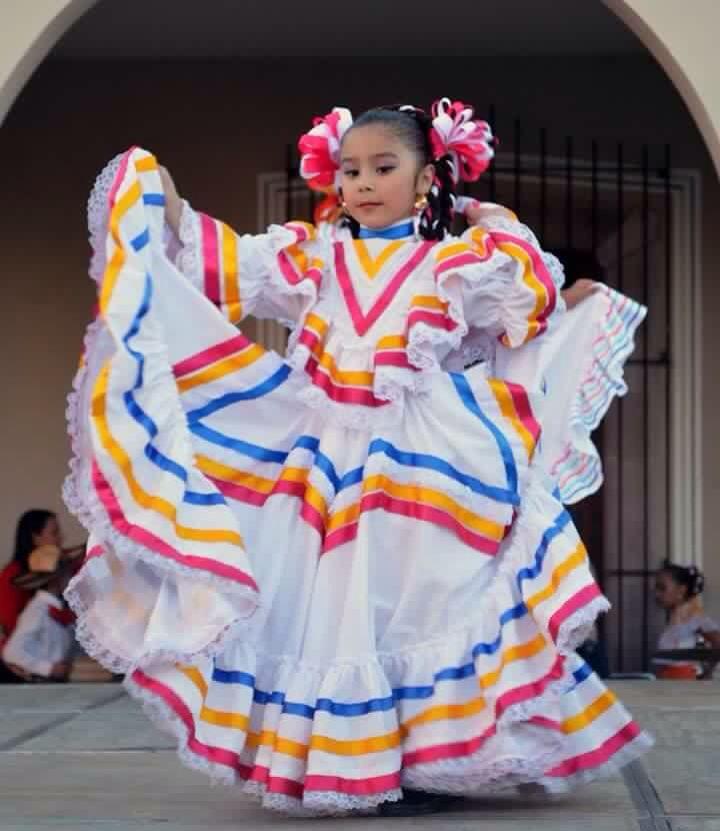 Jalisco En 2019 Vestidos Mexicanos Para Niña Traje De