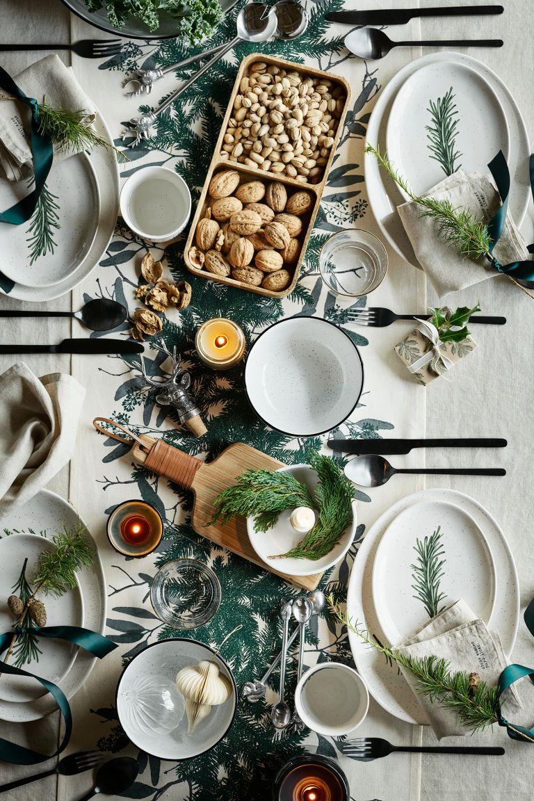 Wooden Dish Holiday Table Decorations Christmas Room Decor Diy Christmas Table