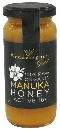 Wedderspoon Organic - 100% Raw Manuka Honey Premium Unpasteurized Active 16+ - 11.46 oz. - http://goodvibeorganics.com/wedderspoon-organic-100-raw-manuka-honey-premium-unpasteurized-active-16-11-46-oz/