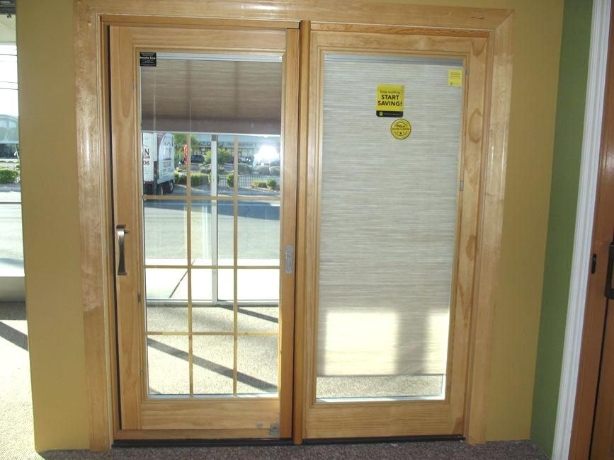 French Doors With Blinds Between The Glass Efficiency And