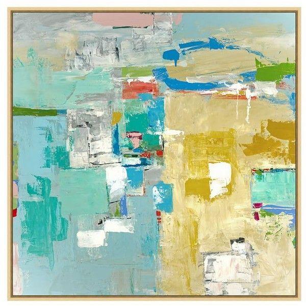 Pottery Barn Playa Vista Canvas (1,870 ILS) ❤ liked on Polyvore ...