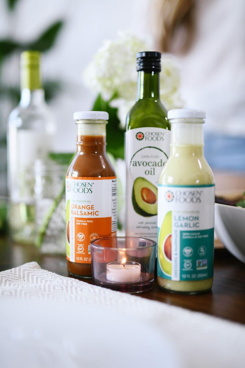 Chosen Foods New Salad Dressings Made With Avocado Oil Chosen Foods Healthy Groceries Avocado