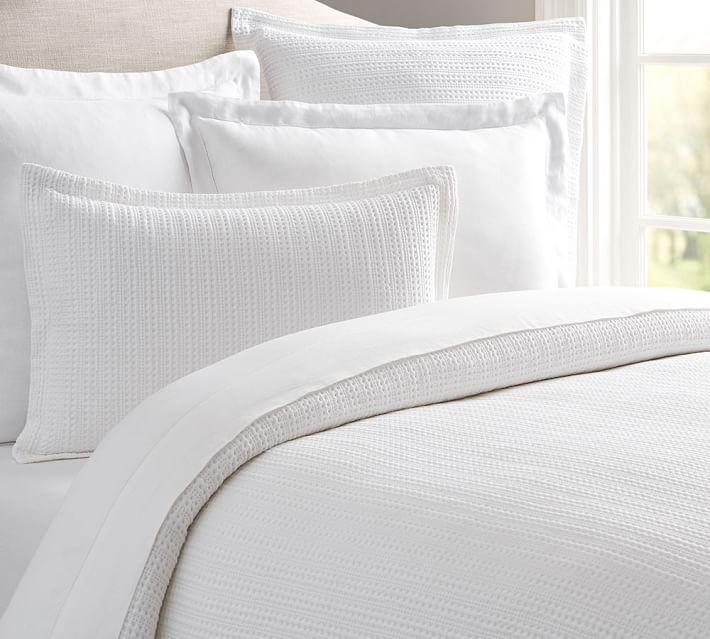 Honeycomb Cotton Duvet Cover Duvet Covers Duvet Bedding Bed