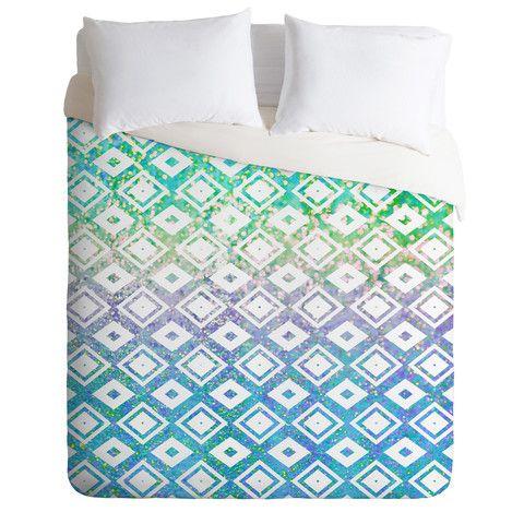 Lisa Argyropoulos Diamond Rain Revival Duvet Cover | DENY Designs Home Accessories