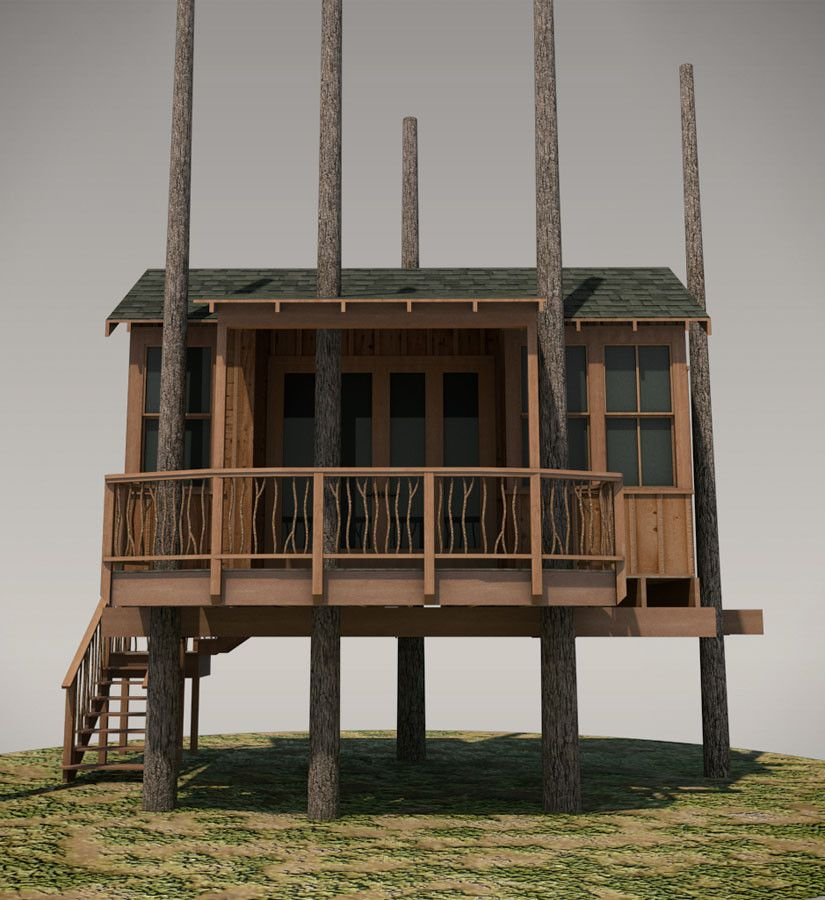 House Guests · Treehouse Plan No.