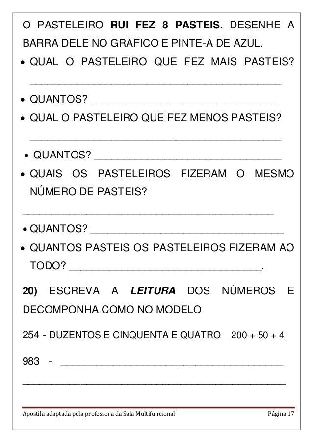 Apostila Matematica Em Pdf Atividades De Matematica Olimpiada