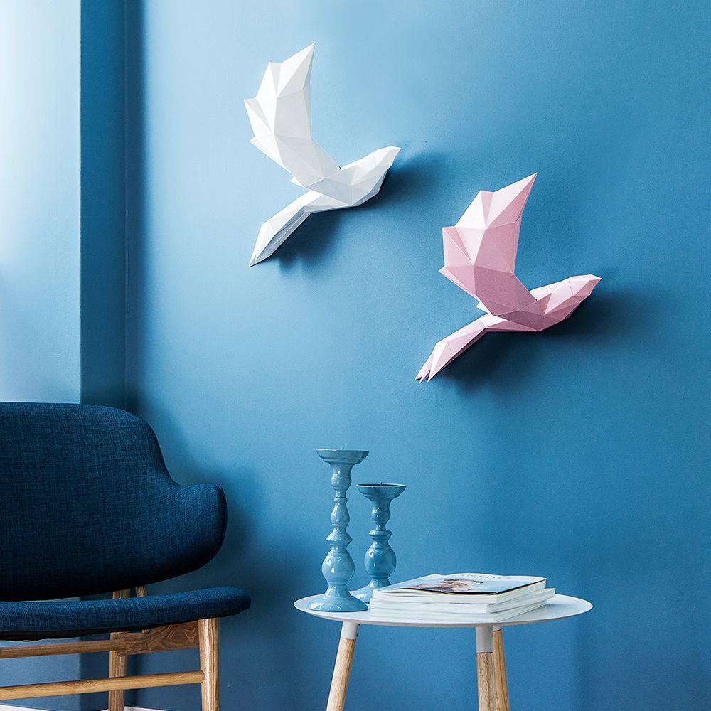 PAPA Play art Polygon art Bird