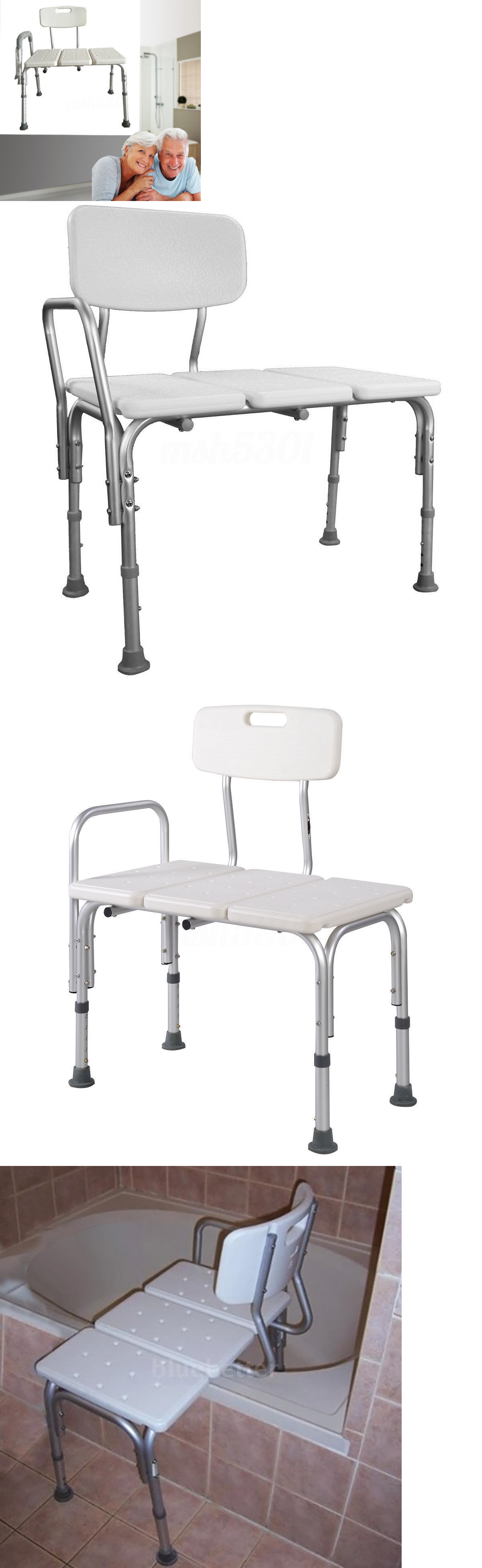 Shower and Bath Seats: Medical Shower Chair Height Adjustable Bath ...