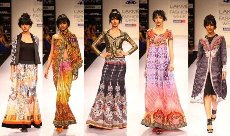 Sidharta Aryan Lakme Fashion Week Winter Festive 2012 Collection Best Emerging Designers To Watch India Fashion Scene Runway Saree Fitted Salw Lakme Fashion Week