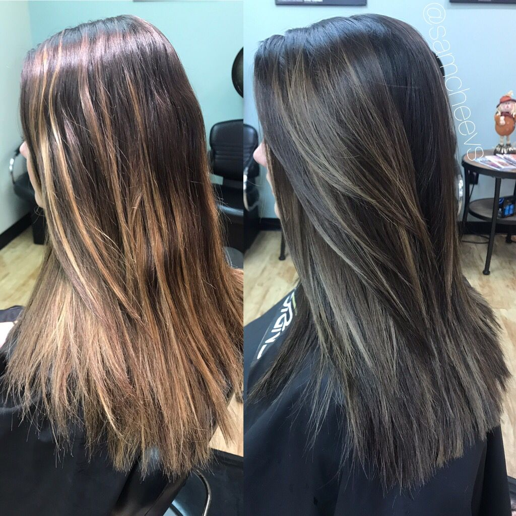 Before and after | Indian hair color, Hispanic hair, Summer hair color