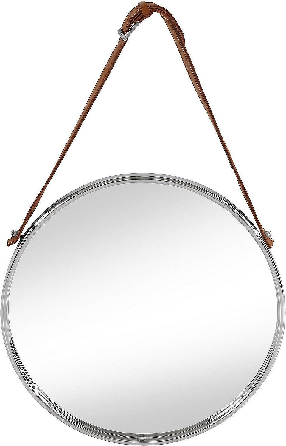 Home Affaire Spiegel Mit Lederband Aufhangung Spiegel Vergrossern