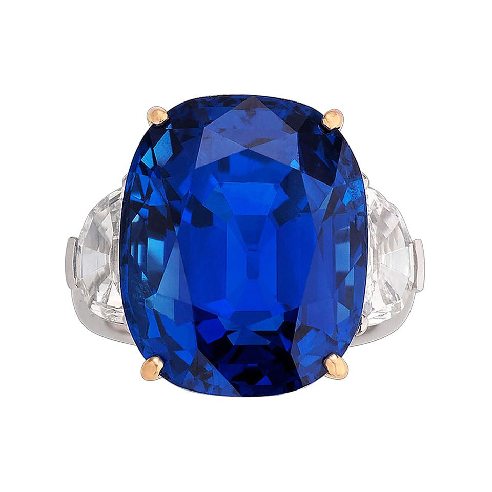 cocktail oscar s sapphire diamond ring products circa heyman platinum