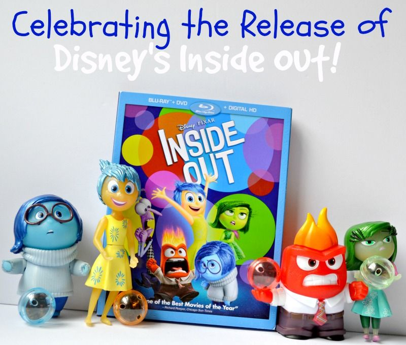 Celebrating the Release of Disney's Inside Out!