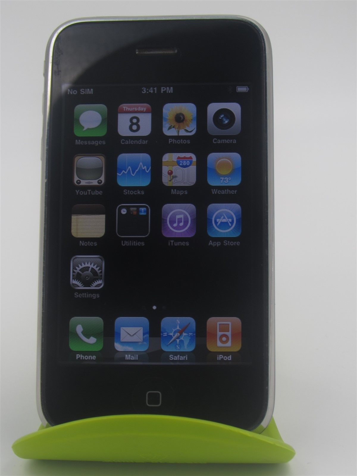 Apple iphone 3g a1241 unlocked smartphone black good