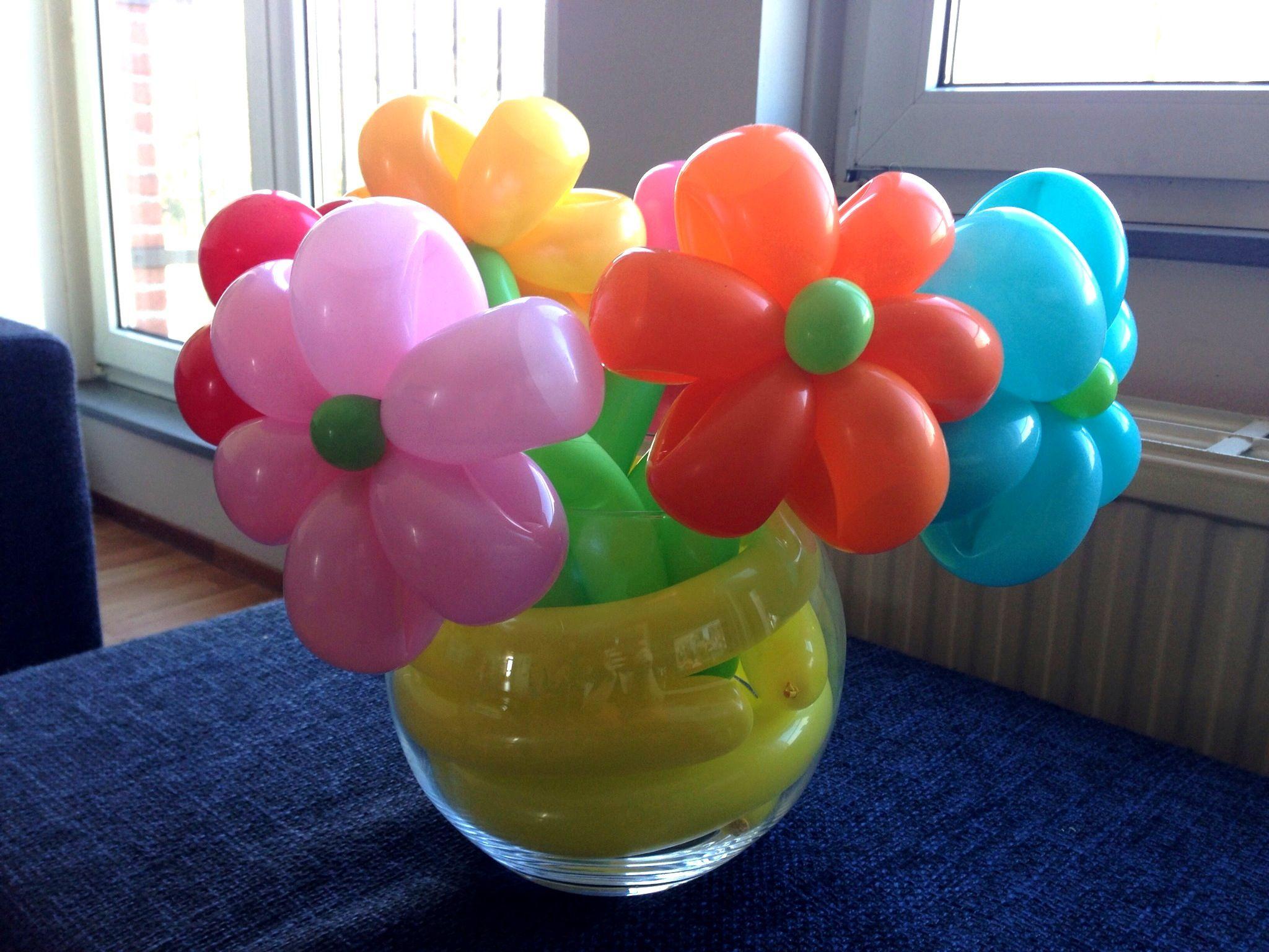 Balloon Flower Bouquet Made By Clown Tallie Balloon Flowers