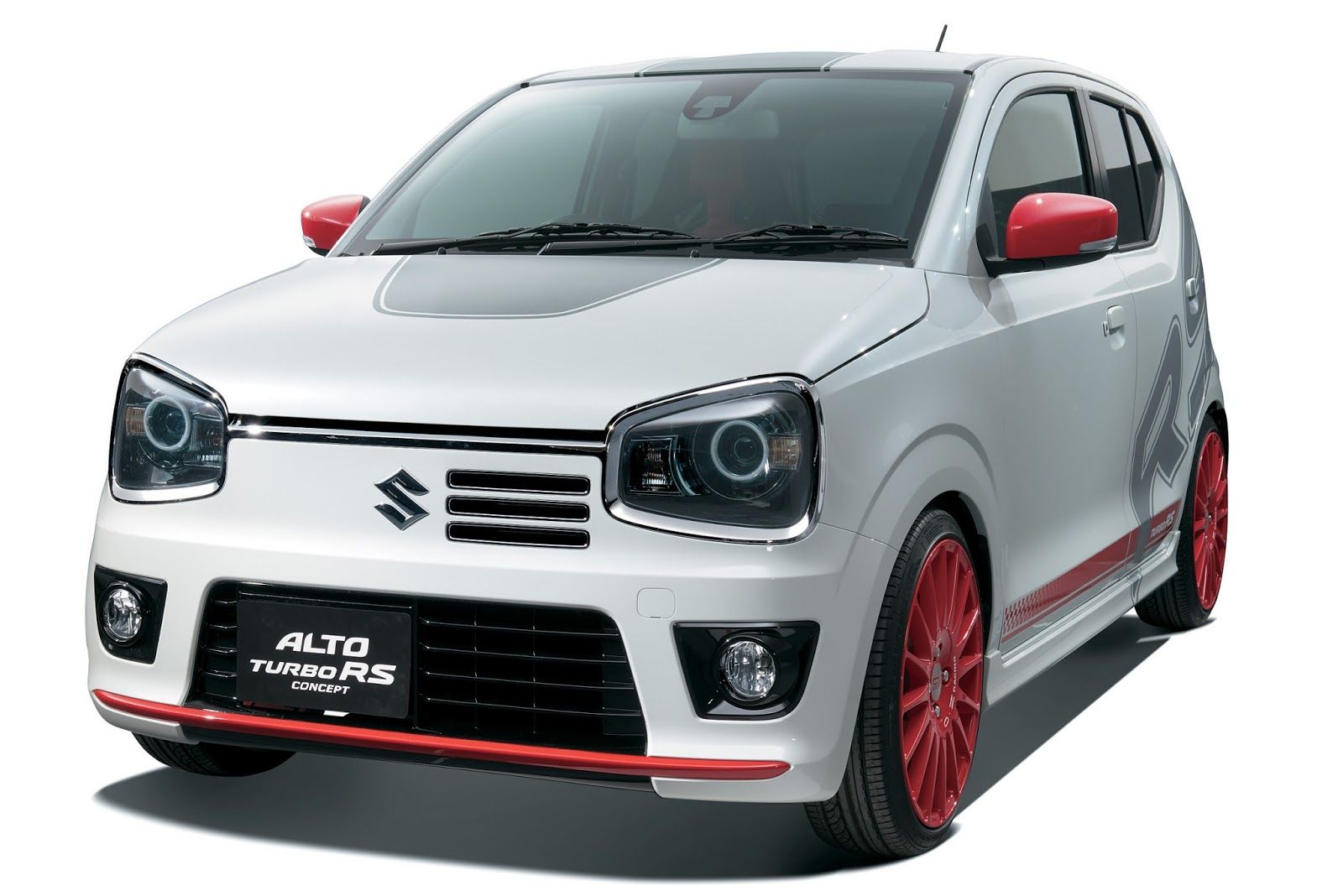 Suzuki alto rs turbo showcased in japan this is the upcoming rs variant of the latest kei car from suzuki the alto suzuki will officially reveal the model