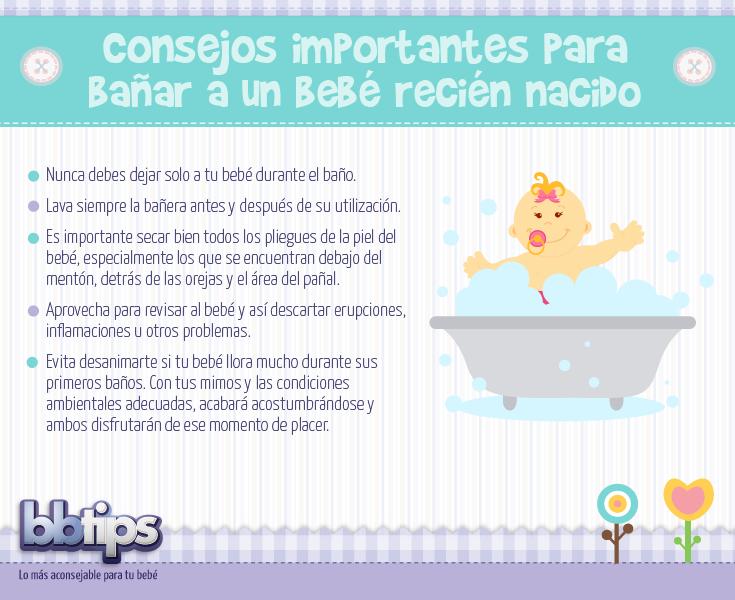 Como Bañar A Un Bebe | Conoce Como Banar A Tu Bebe Recien Nacido Asear Tips