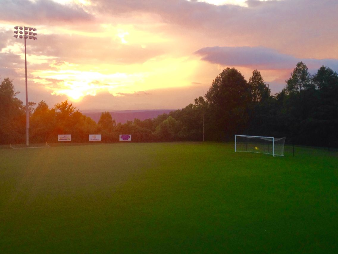 Covenant College Soccer Field    Lookout Mountain, Ga   Soccer field, College  soccer, Soccer girl probs