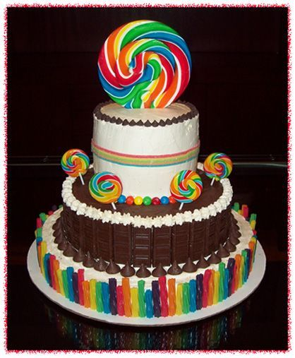 Chocolate Candy Cake, Candy Cakes Image And Cupcakes