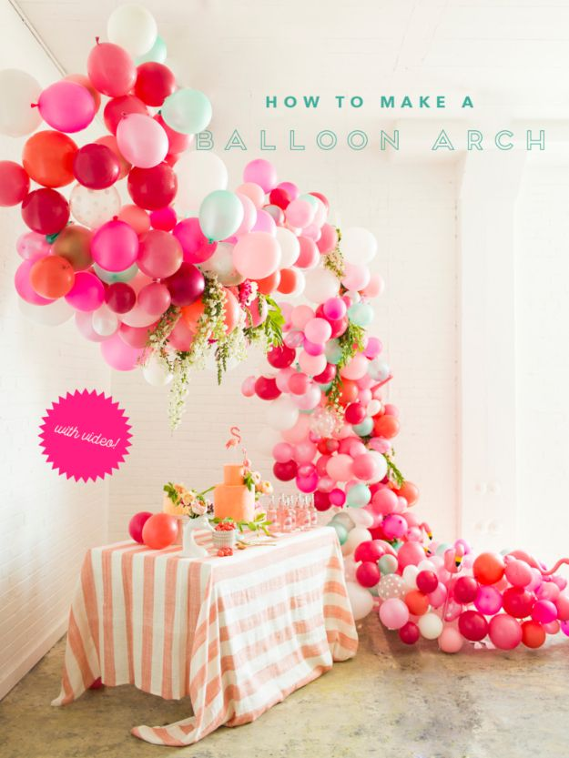 39 Easy DIY Party Decorations | Diy party decorations, Birthday ...