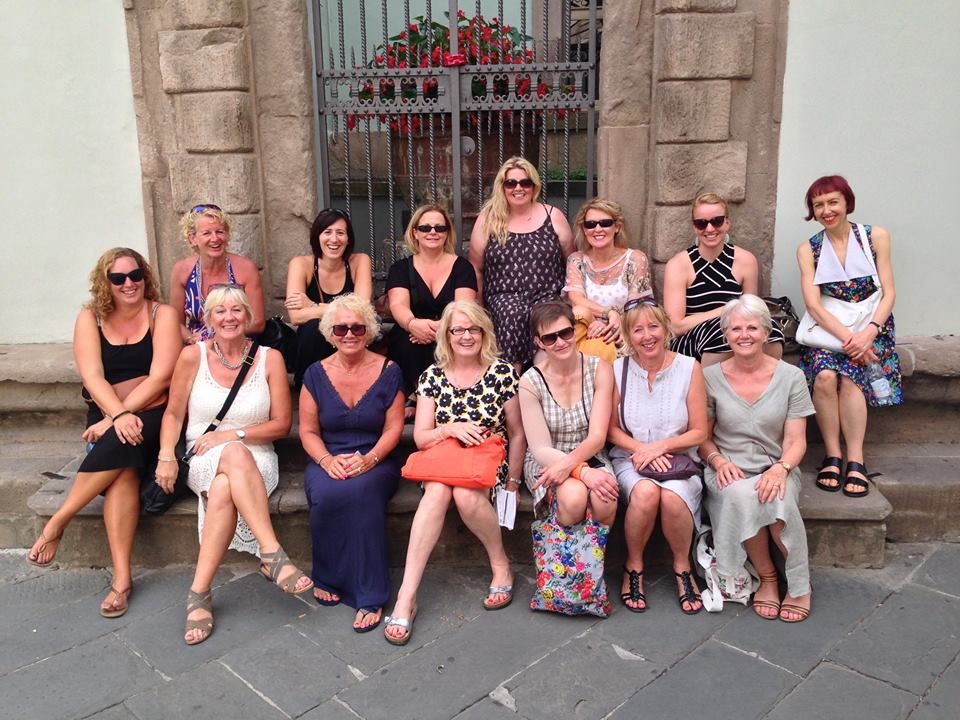 Evening out in Lucca! Before the opera ) Yogalates