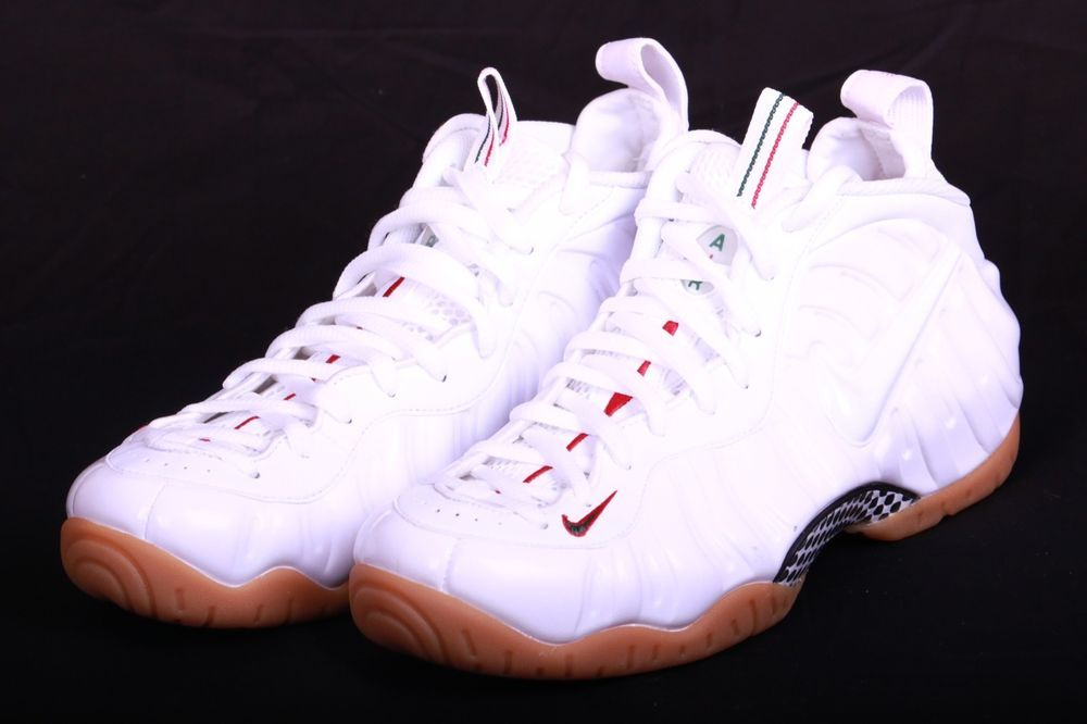 buy popular 41bbb 0219a Nike Air Foamposite 2015 Pro White Gym Red Gorge Green Gucc i 624041 102 Sz  9.5  fashion  clothing  shoes  accessories  mensshoes  athleticshoes (ebay  link)