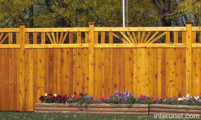 Wooden Fence Designs Ideas image of inexpensive backyard fencing 1000 Images About Fence Design Ideas On Pinterest Fence Wood Gates And Gates