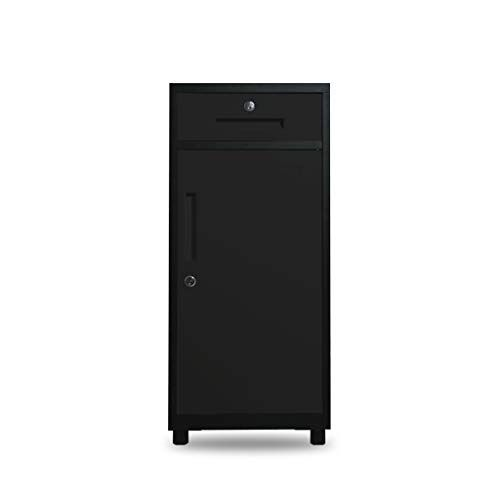 QSJY File Cabinets Disassembly Fireproof and Durable Large Space with Lock Metal Locker Compartment Design Storage Protection Important documents 404085cm (Color : A) #importantdocuments