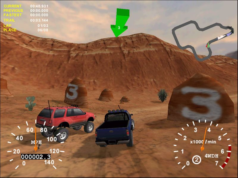 4x4 Evolution Playstation 2