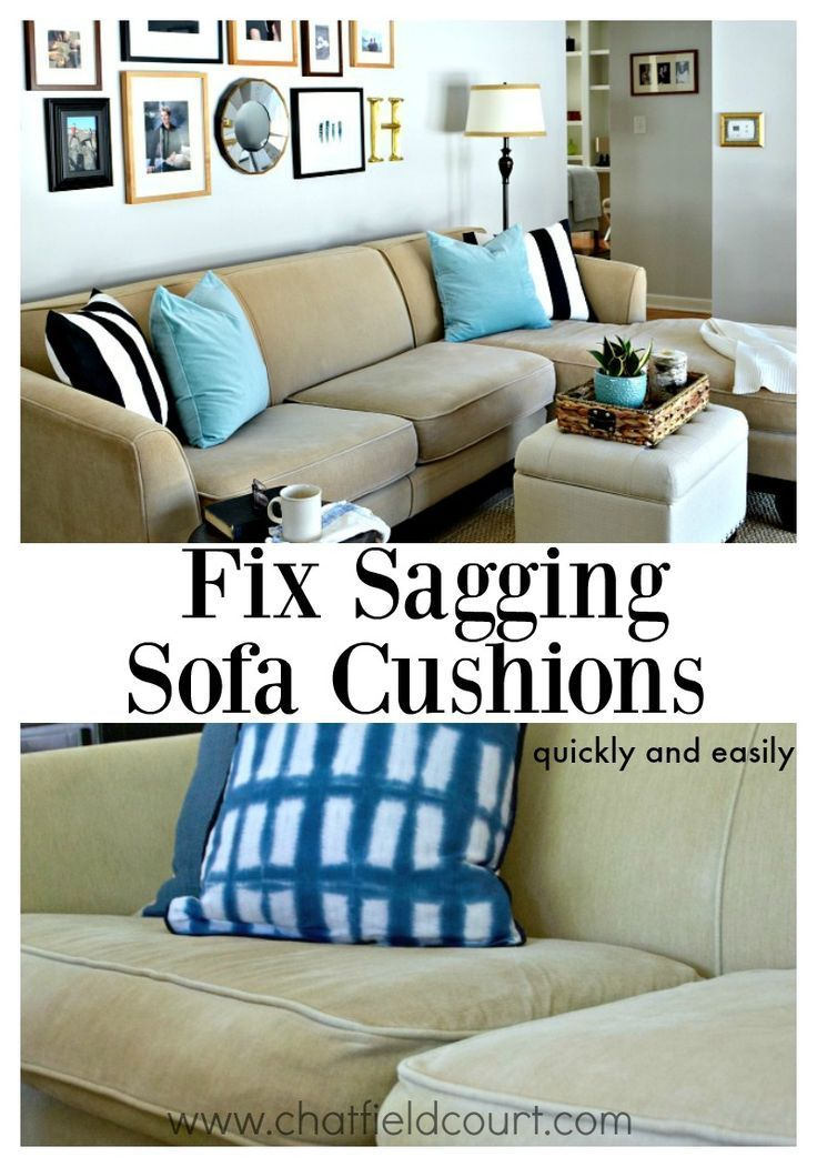 Do You Have Sagging Sofa Cushions That Are Uncomfortable To Sit