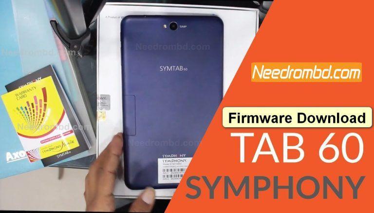 SymphonyTAB60 MT6580 [SYMTAB60_HW1_V7] Flash File