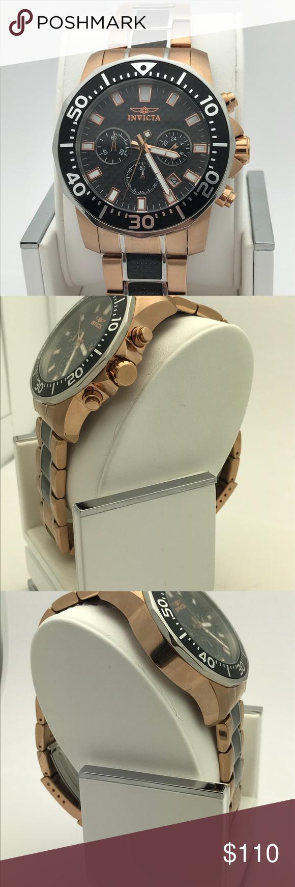 Invicta Menus Pro Diver Watch Ionplated stainless steel watch