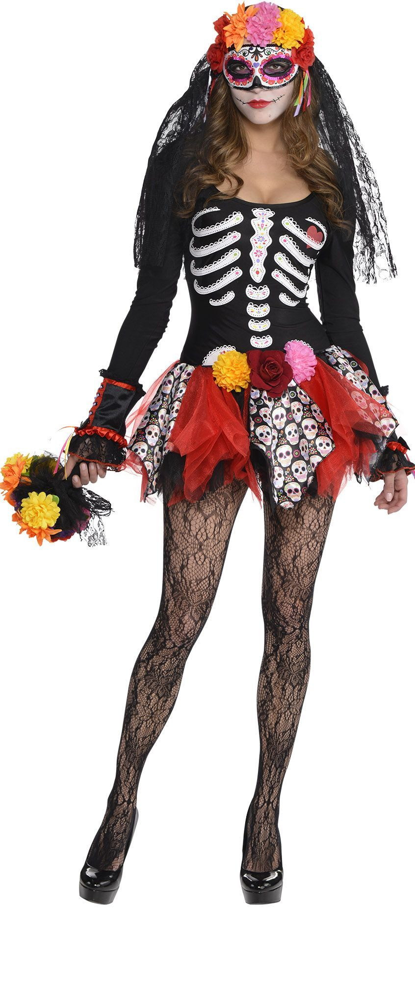 Create Your Own Look Female Day of the Dead 1 Gothic