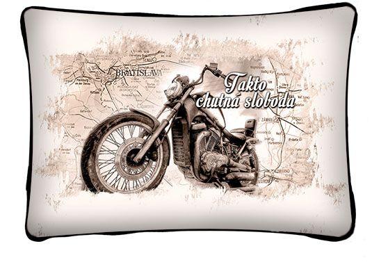 fb41782279629 Prekvapte vašich originálnym darčekom a zaspávajte s našim vtipným  vankúšom. Darčeky pre motorkárov