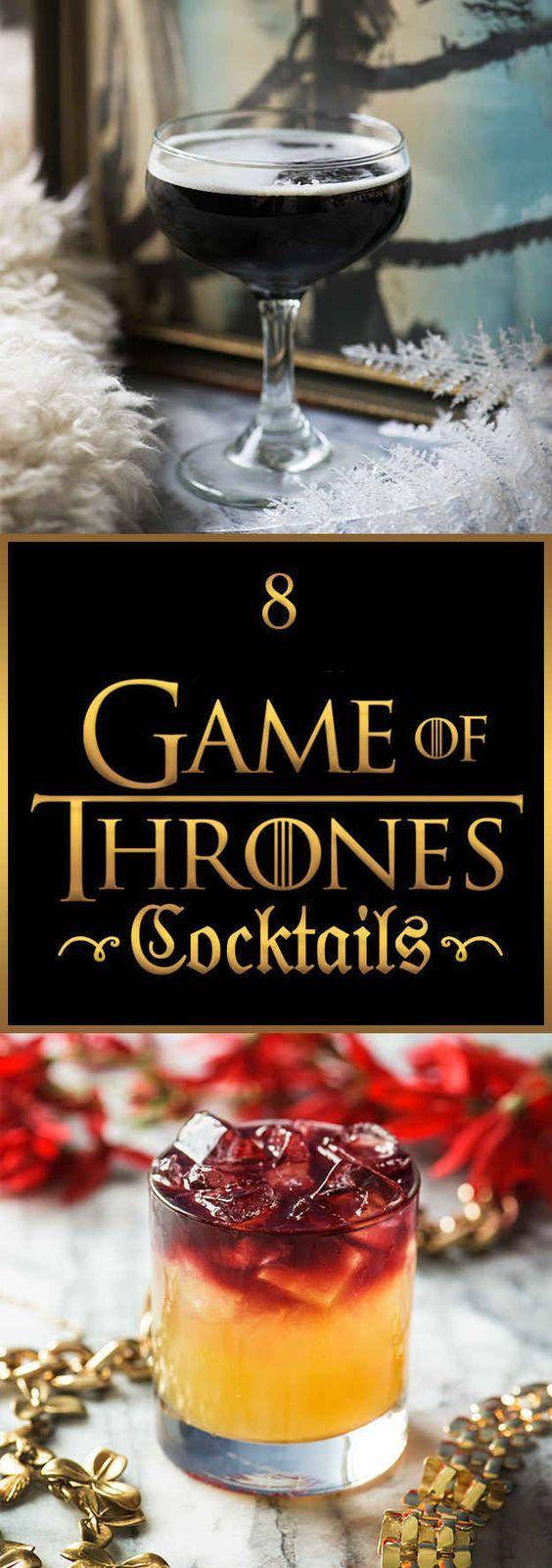 8 tolle Cocktails für alle Game of Thrones-Fans