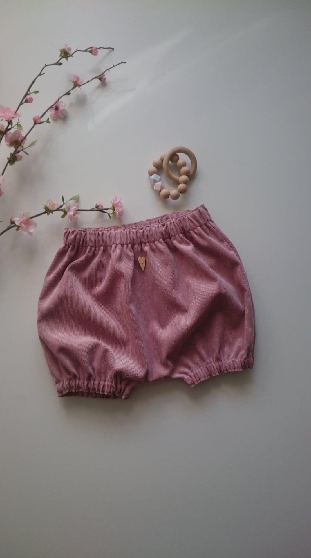 Bloomers Cord Shorts Baby Kind Old Pink Game Pants Short Pants Girl Pants Cordhose Corlihose Shorts Pumphose Cordpumphosis Bloomers Fashion Boho Shorts