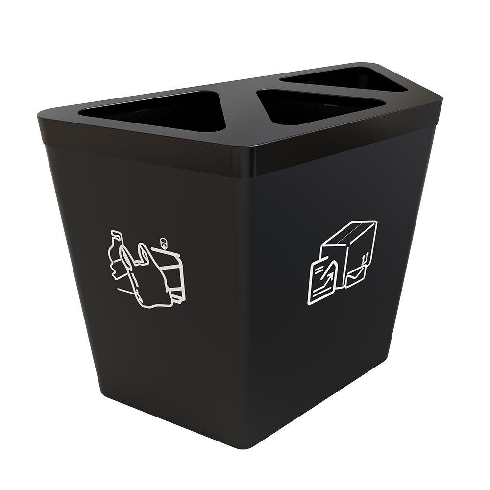 horsens poubelle de tri 3 bacs pour tri slectif - Poubelle Tri Selectif 3 Bacs