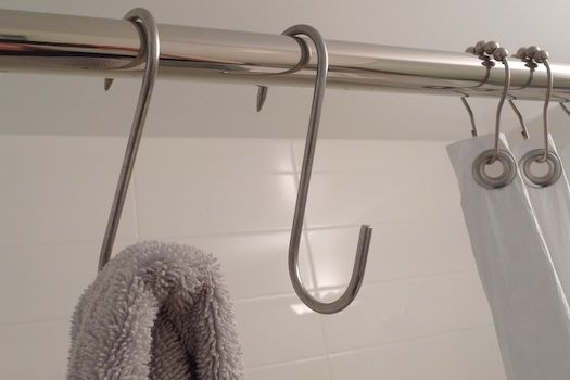 Space Saving Bathroom Towel Hook Solution Pot Hooks With Images