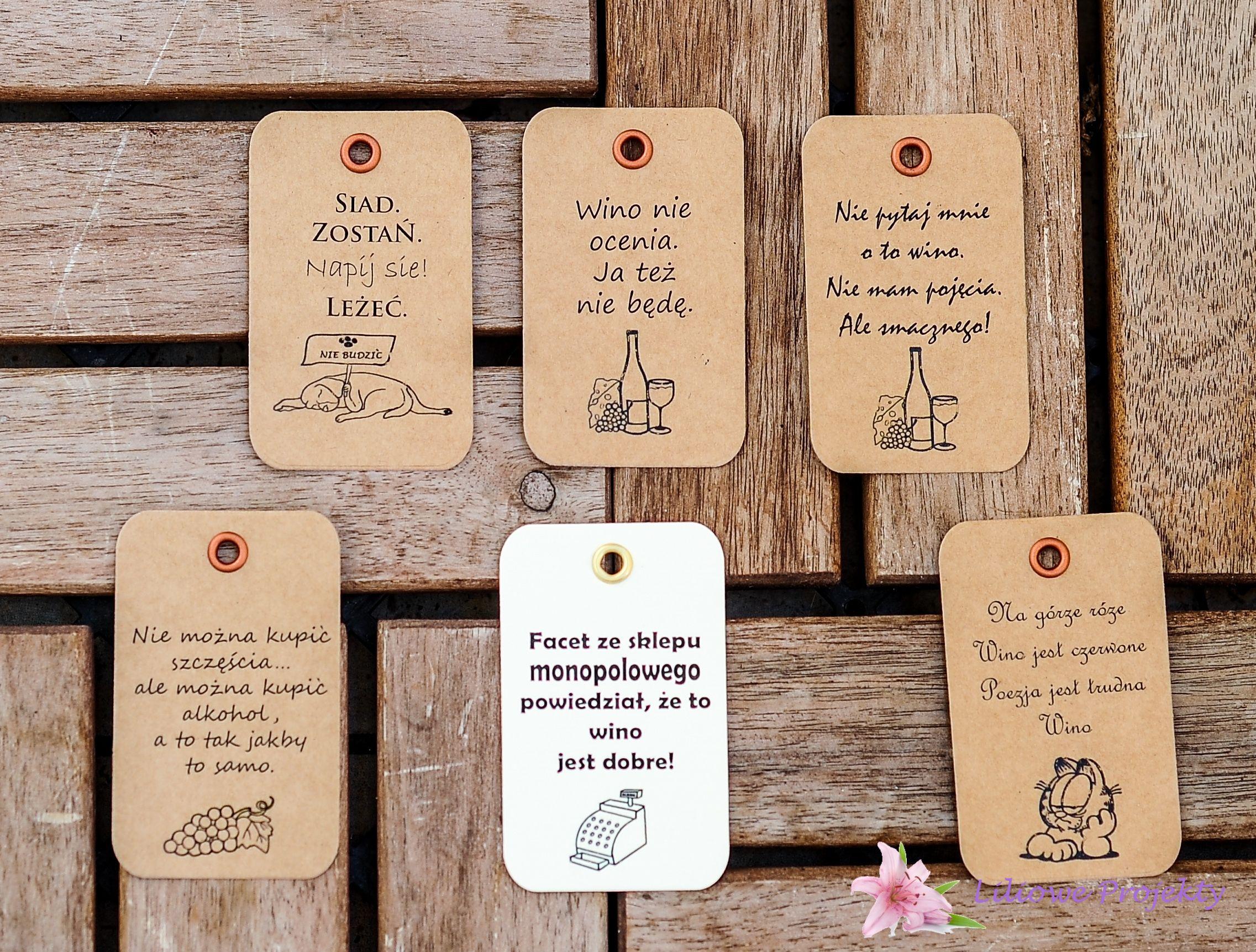 Wino I Smiech Liliowe Projekty Wino Alkohol Pomysly Na Slub